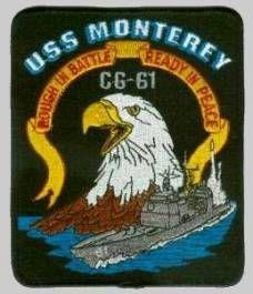 USS MONTEREY CG 61