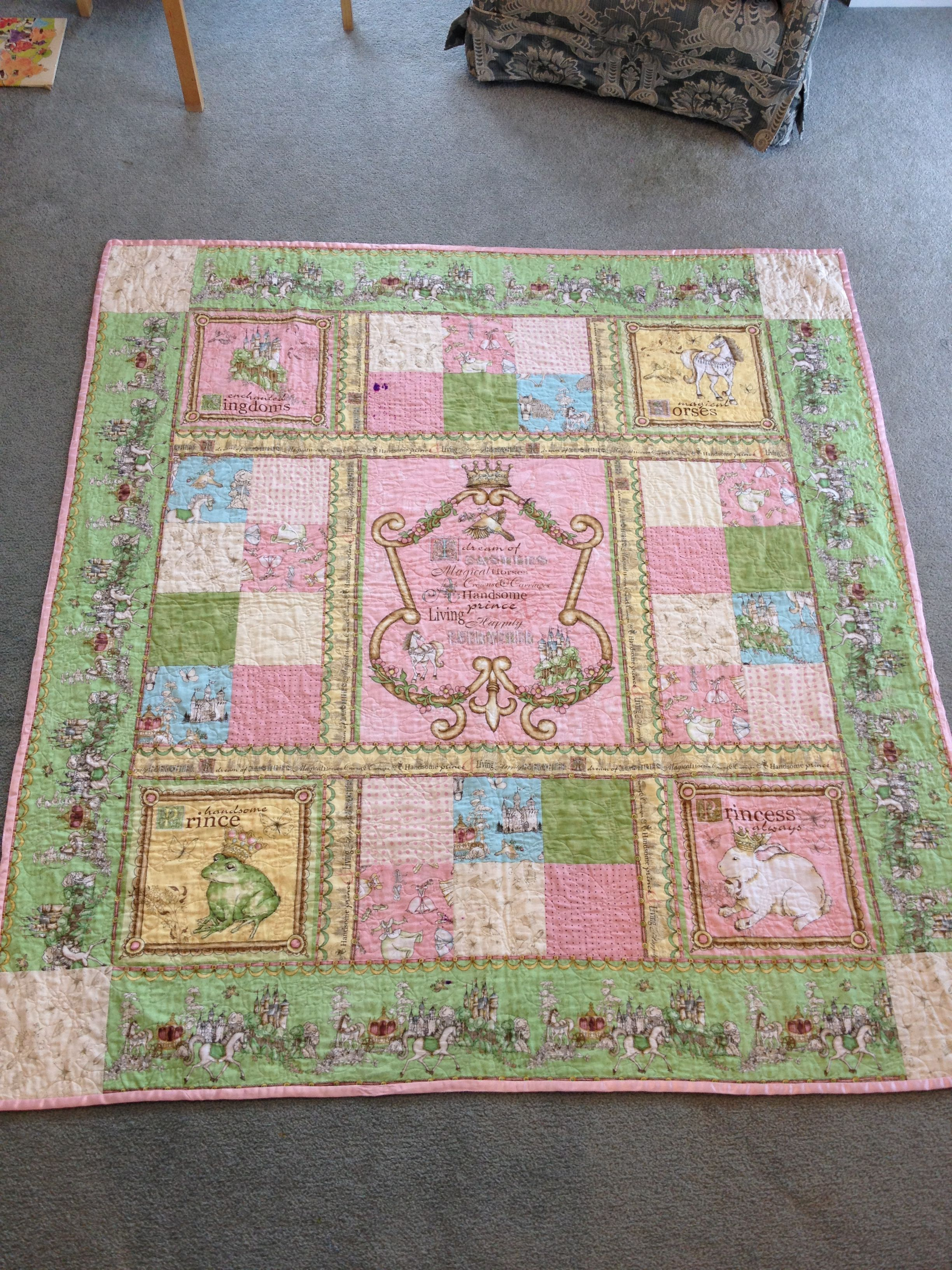 Princess Quilt Quilts I Ve Made Pinterest Quilt And