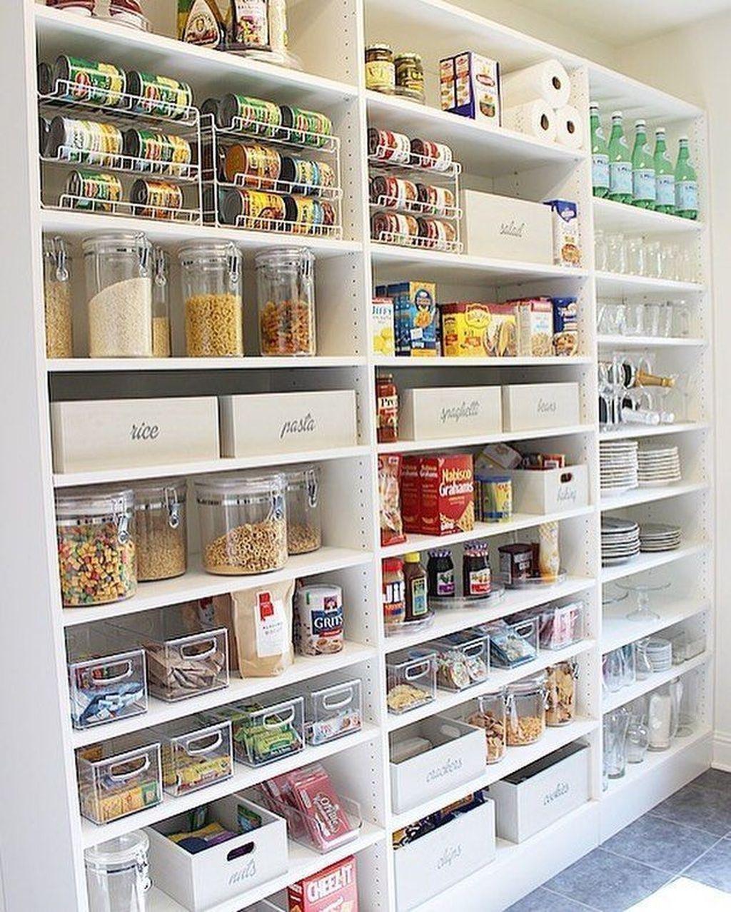 35 Fabulous Pantry Storage Ideas For Your Kitchen, #Fabulous #Ideas #kitchen #Pantry #pantry...