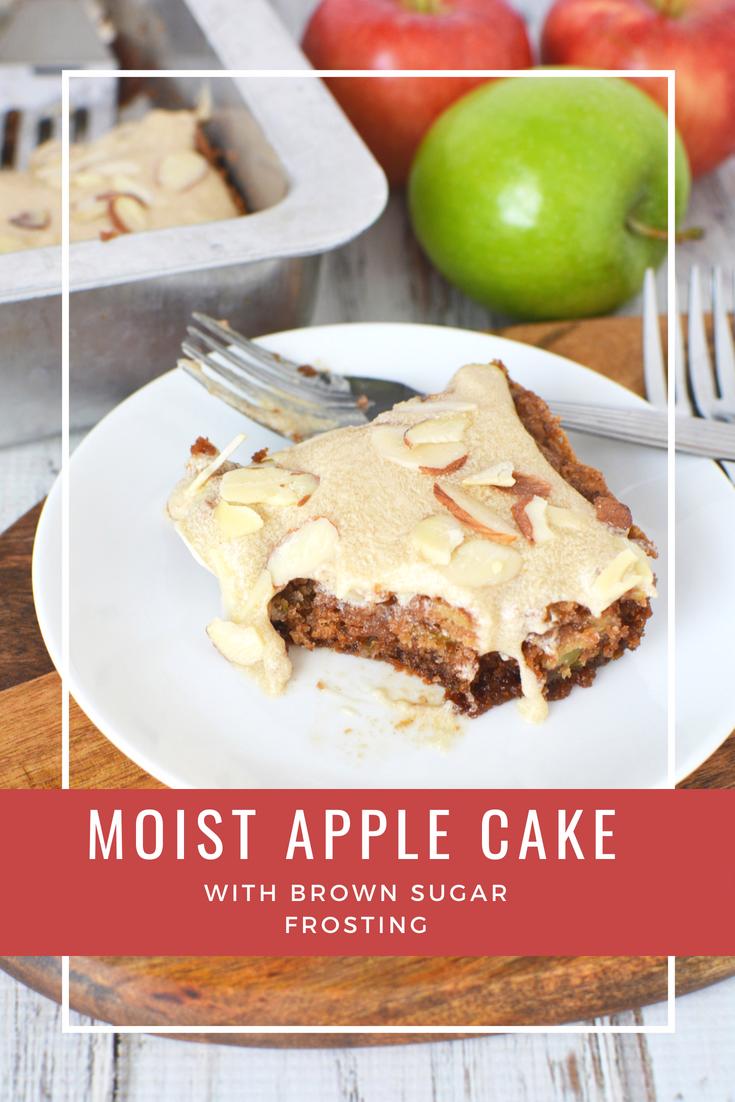 Apple Cake Recipe Sweets Cakes Pies Pinterest Cake Moist