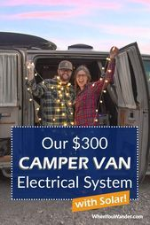 Photo of How to Build a DIY Camper Van Electrical System | When You Wander #Build #Camper…