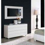 ESF Furniture - 661 Cinderella Dresser and Mirror - CINDERELLA-DR+M
