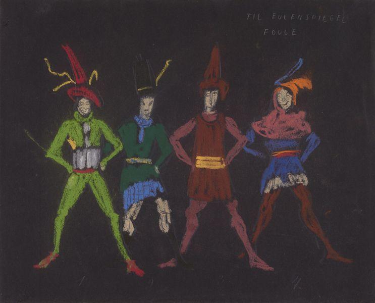 Robert Edmond Jones 1887 1954 Till Eulenspiegel Costume Design