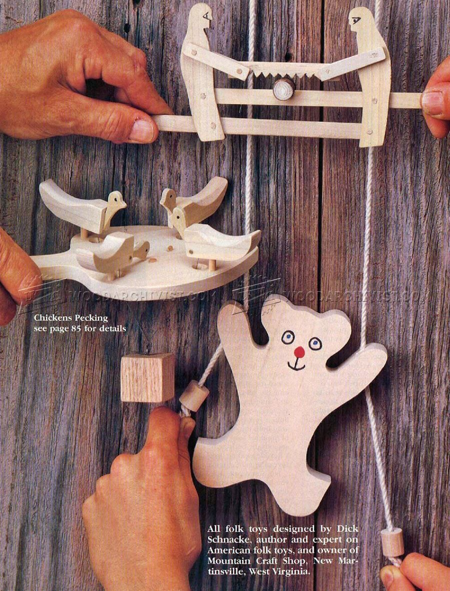 1799 wooden folk toys plans - wooden toy plans | craft ideas