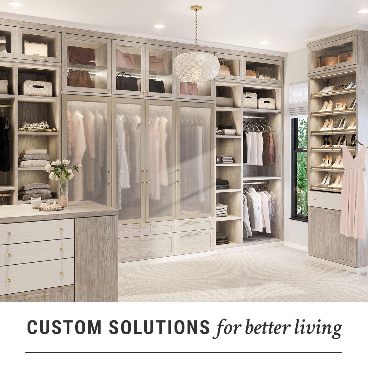 Closets Closet Organizers By California Closets Closet Storage Design Closet Designs Closet Small Bedroom
