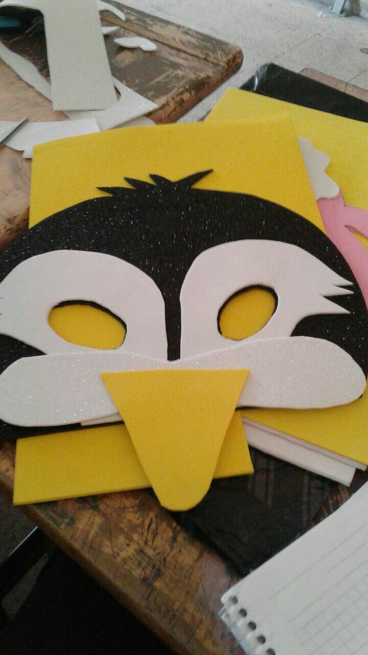 Penguen Maskesi Penguen Hayvan Sanat Etkinlikleri