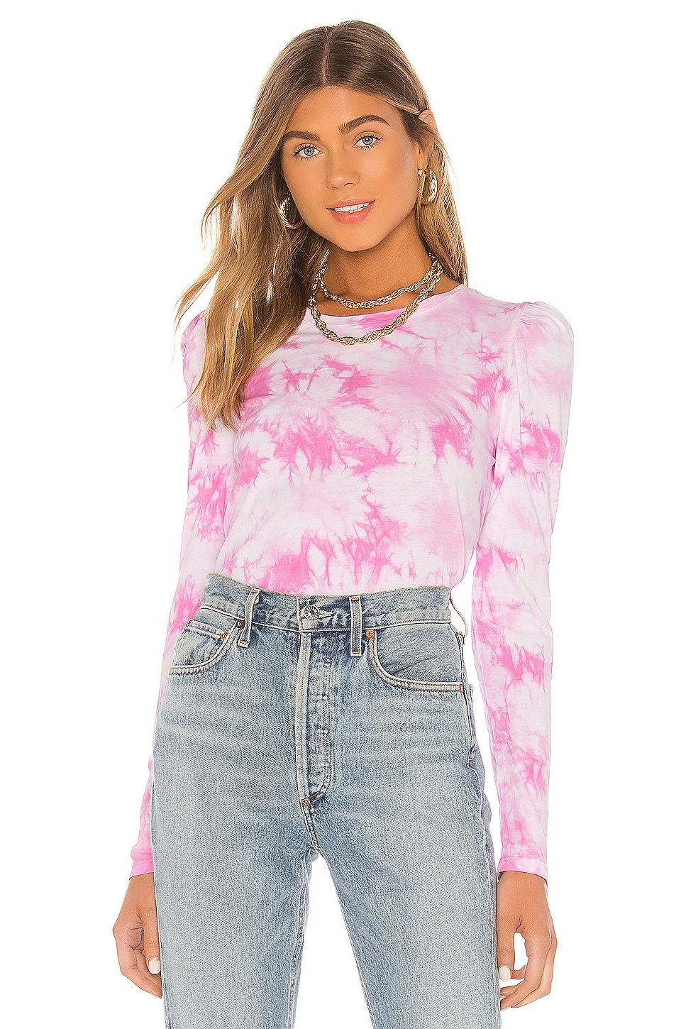 Generation Love Josephine Top in Pink & White, #ad, #Ad, #Josephine, #White, #Pink, #Love
