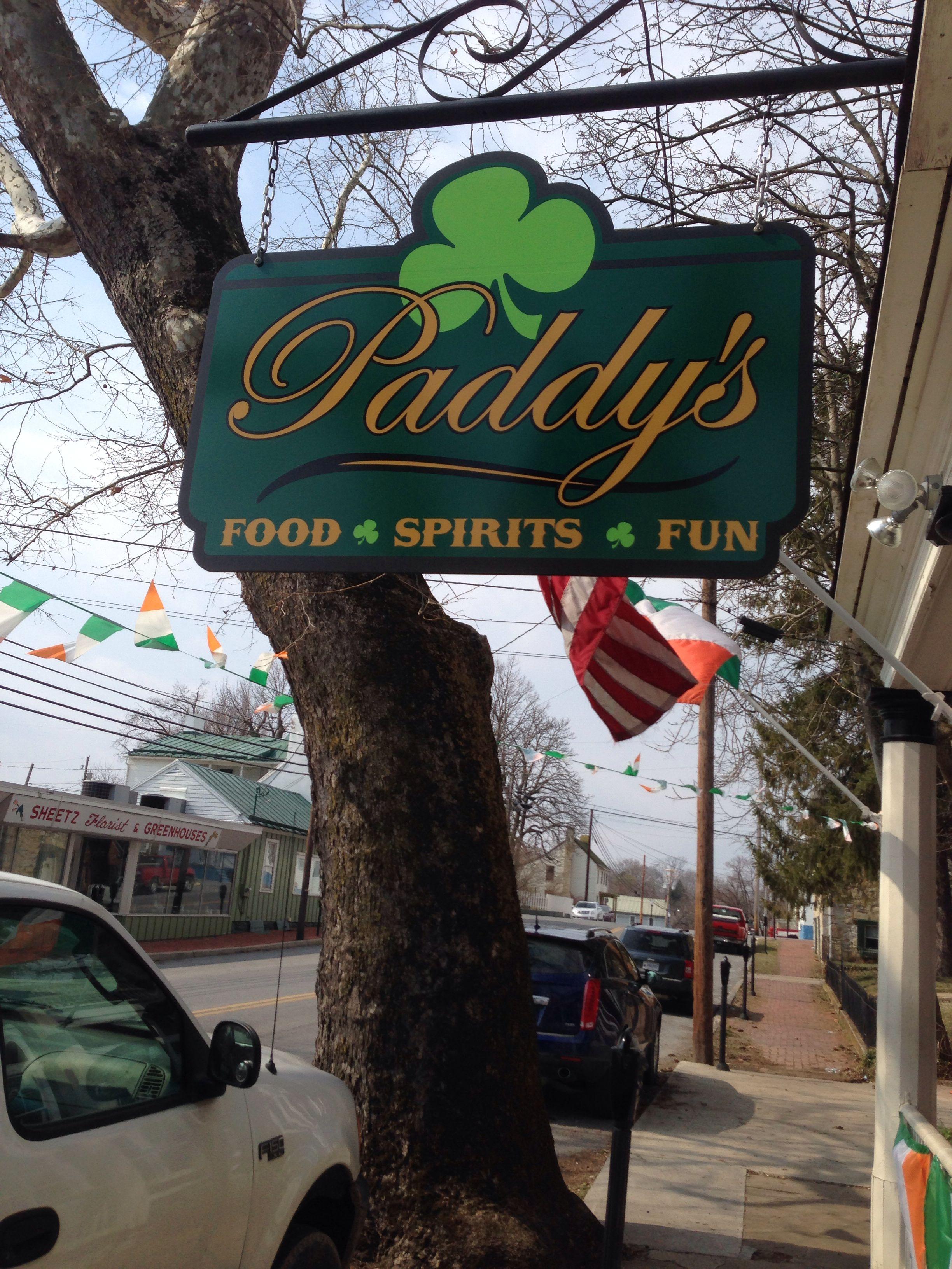 Paddy's Irish Pub Charles Town, WV