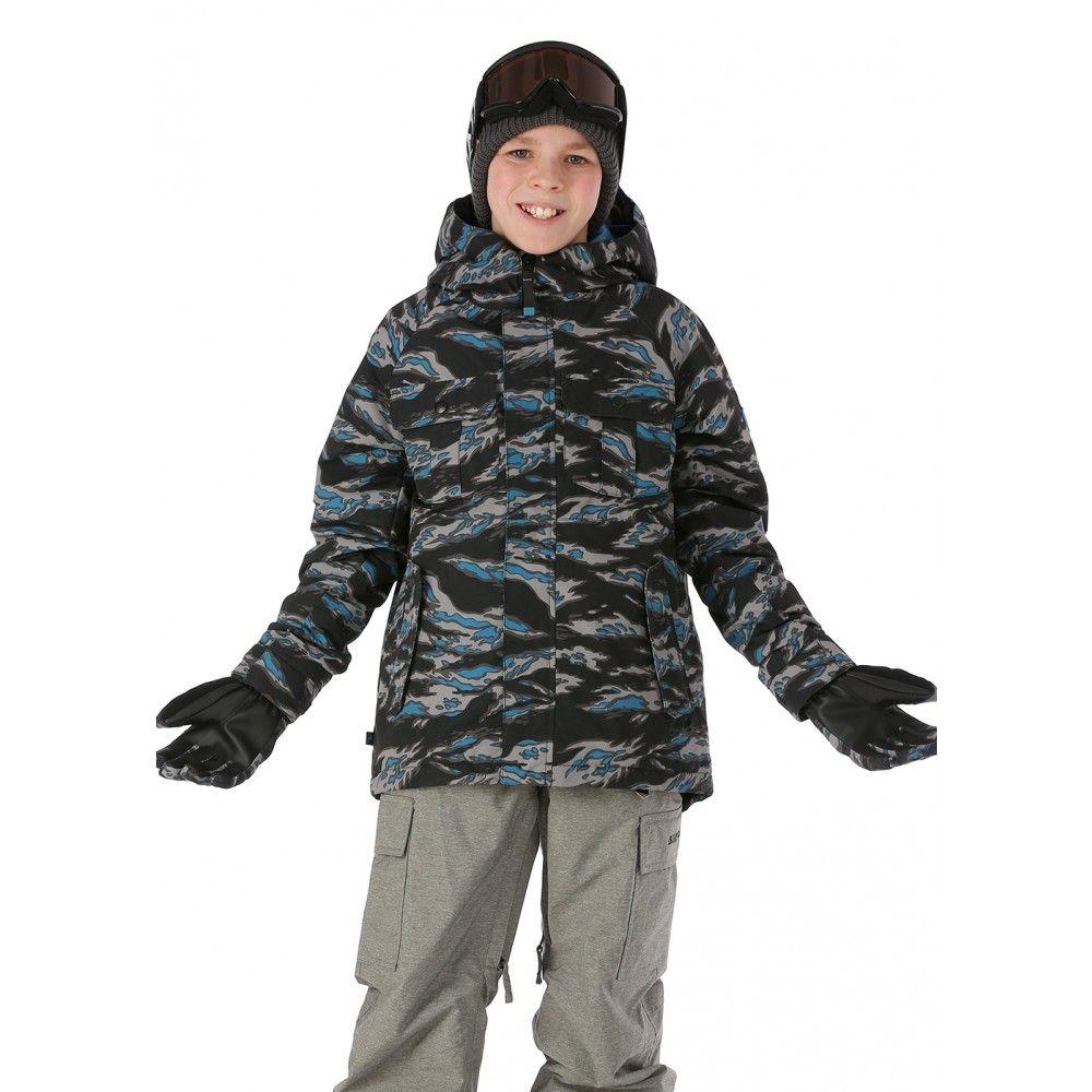 eb6fcf475 Burton Boys Fray Jacket - WinterKids.com