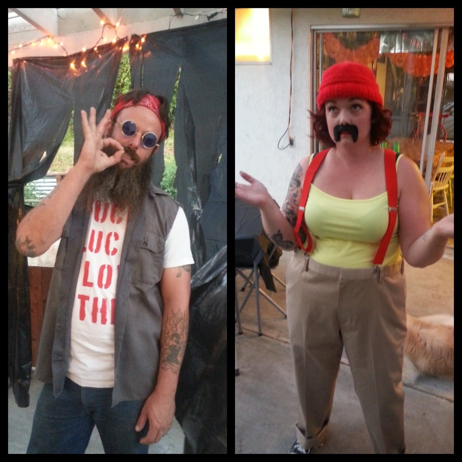 This years couples costume. Cheech and Chong | Halloween!! | Pinterest