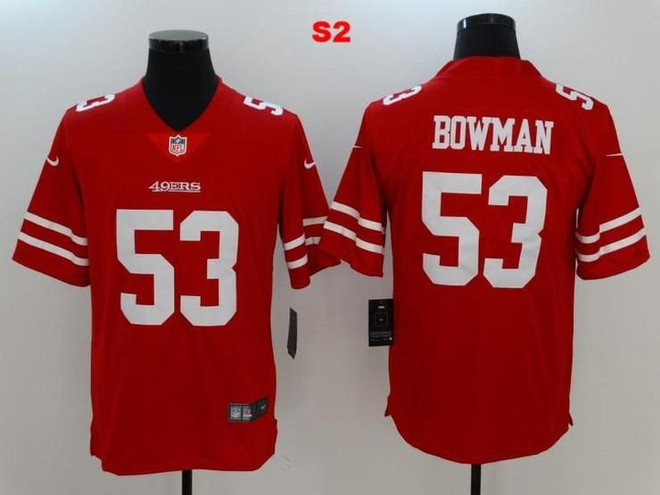 best sneakers bed48 eff89 Men 53 NaVorro Bowman Jersey Football San Francisco 49ers ...
