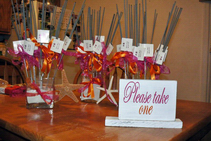 Image result for Using Sparklers in Your Centerpieces