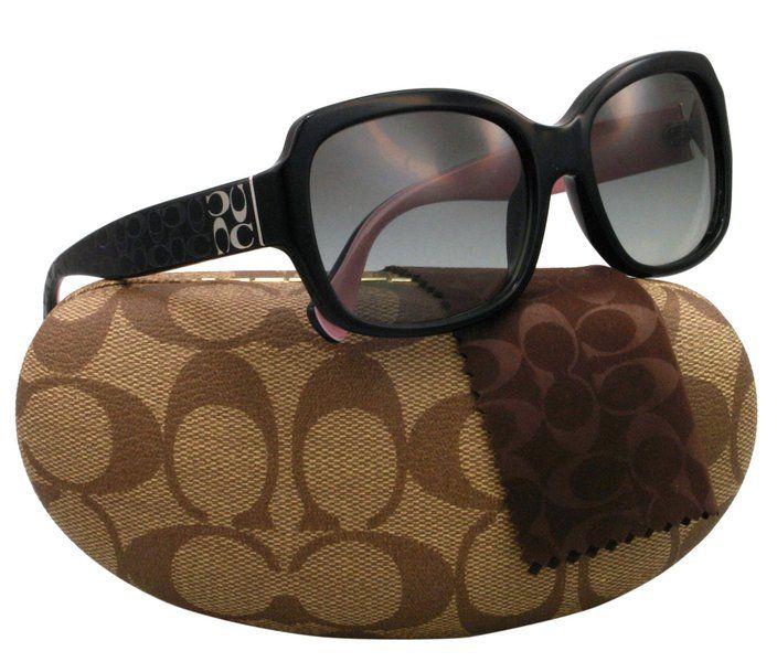 0b942599a1 Coach Sunglasses HC 8001 BLACK 5053 11 HC8001