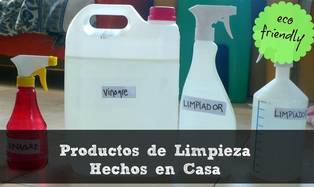 Productos De Limpieza Hechos En Casa Ecologicos Y Economicos