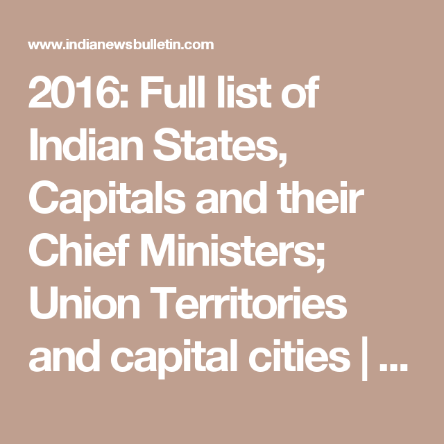 India Map States And Capital States And Capitals Map India Map