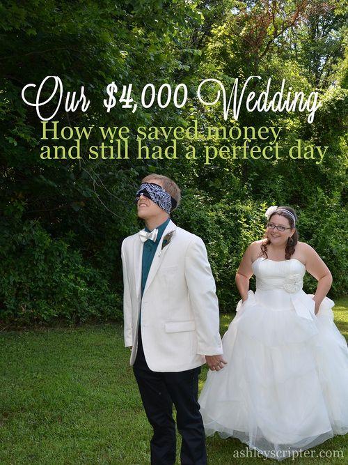 Our 4 000 Wedding Frugal Wedding Budget Wedding Wedding