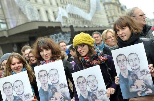 Mariage pour tous, manifestation, Paris, 2012 © Stefane Ardenti