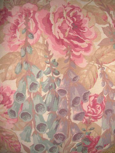 foxglove fabric english edwardian curtain and upholstery fabric