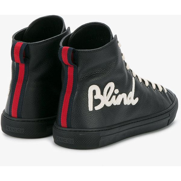 6e44655ddab Gucci Blind For Love Sneakers ( 788) ❤ liked on Polyvore featuring men s  fashion