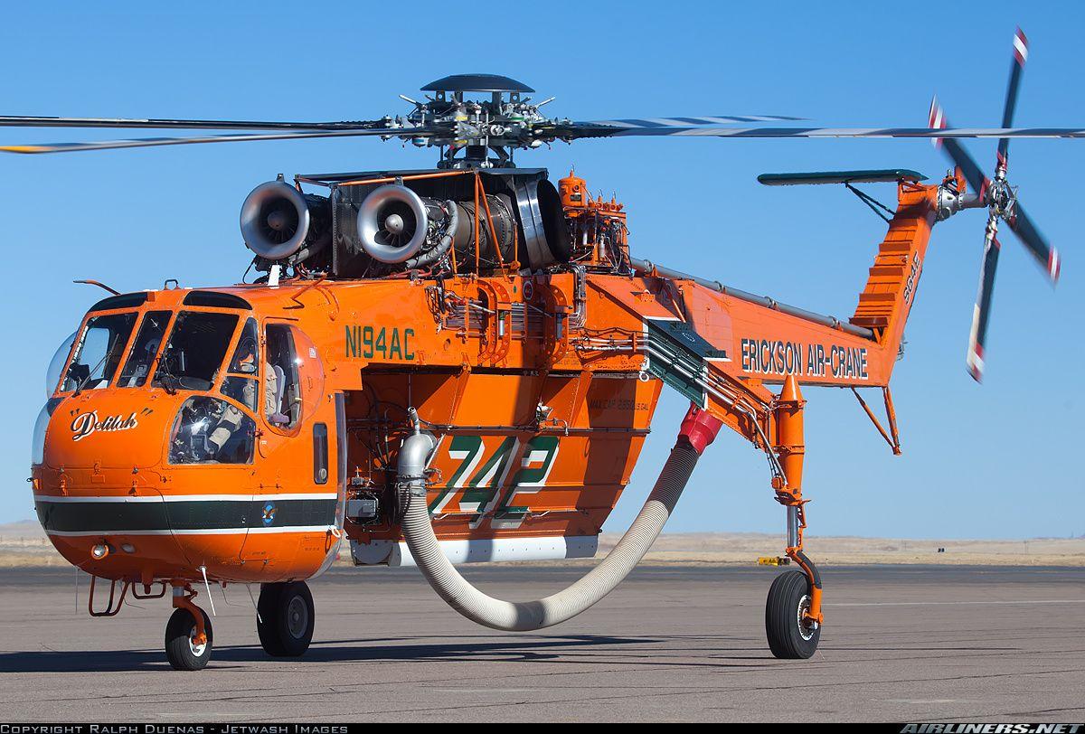 Sikorsky S64E Skycrane Erickson AirCrane Aviation
