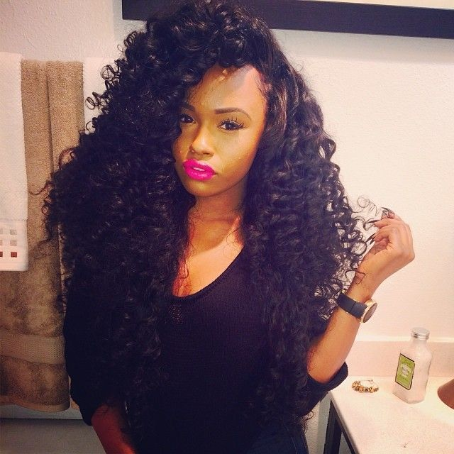 Big Curls Hair Weave Celebrity Inspired Style And Beauty Long