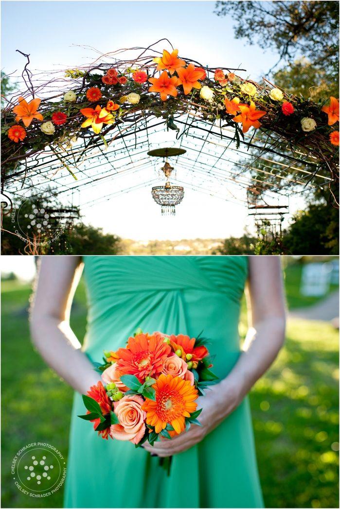 Arbor Decor From Amanda Dylan S Wedding
