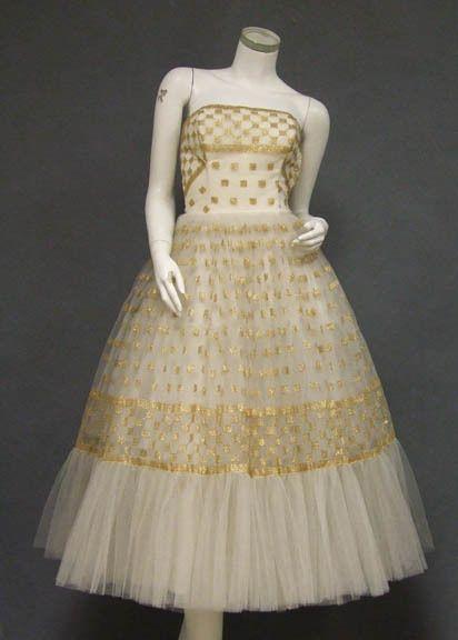 Dress1950sVintageous