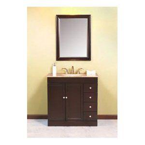 Luxexclusive Single Sink Antique Vanity Luxls1064 Va W 36