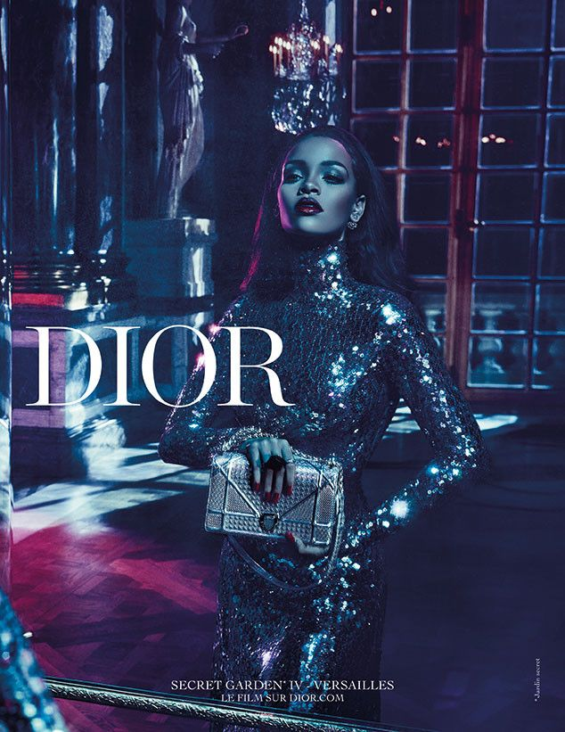 edc045d9e8b3 Rihanna Gets Sexy in the Palace of Versailles for Dior Secret Garden  Campaign—See Her First Ads!