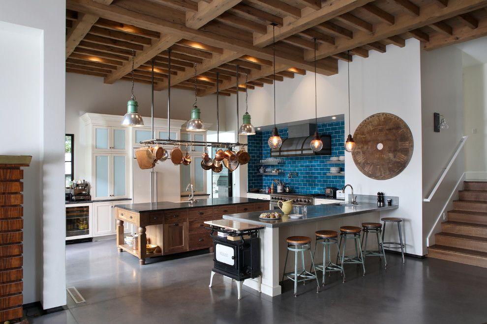 Take A Look At These Creative Ideas For Utilizing Kitchen Space