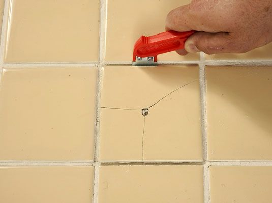 How To Replace Broken Ceramic Tile Ceramic Tile Bathrooms Tile