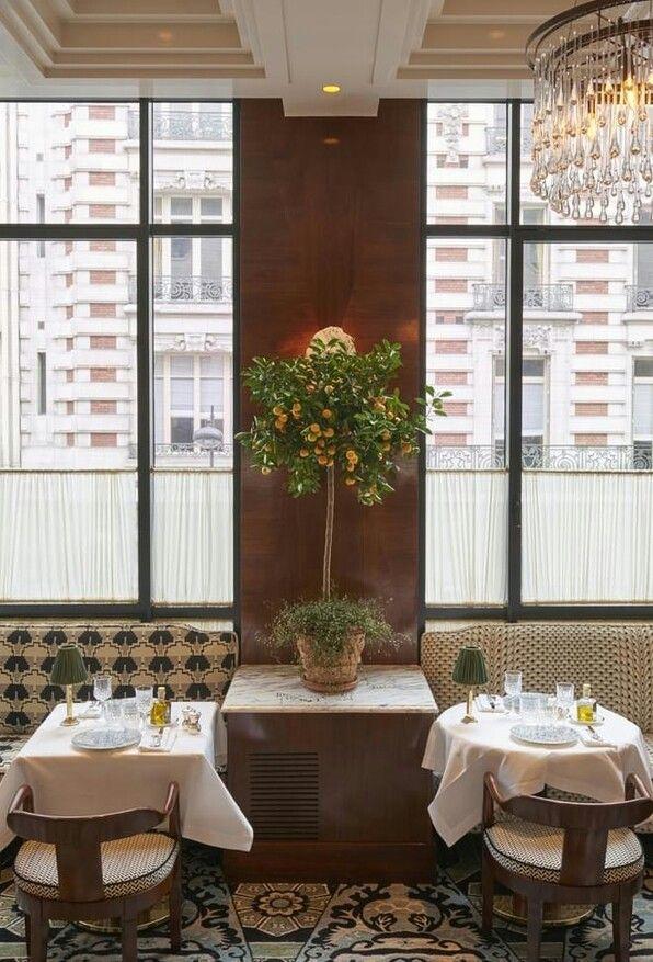 Rideau brasserie Art Déco. Noto. Restaurant salle Pleyel. Idée ...