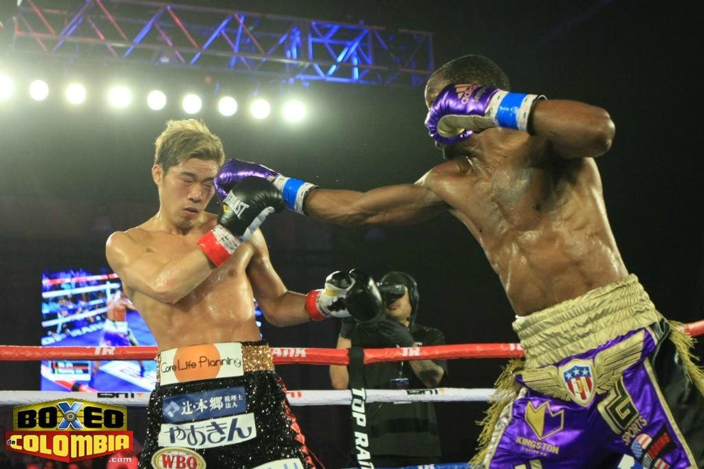 Jamel Herring Defeated Masayuki Ito To Win The Wbo Title Title Ito Combat