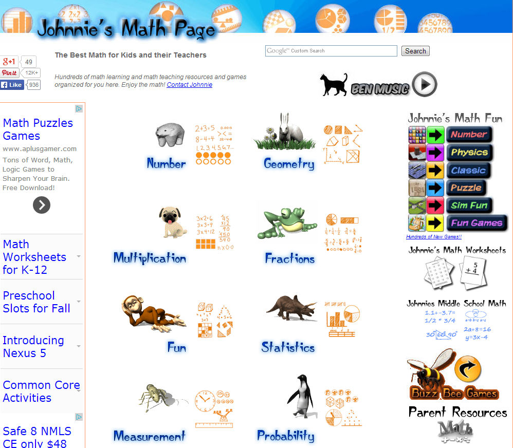 Learning Never Stops: 7 math based websites to discover (again ...