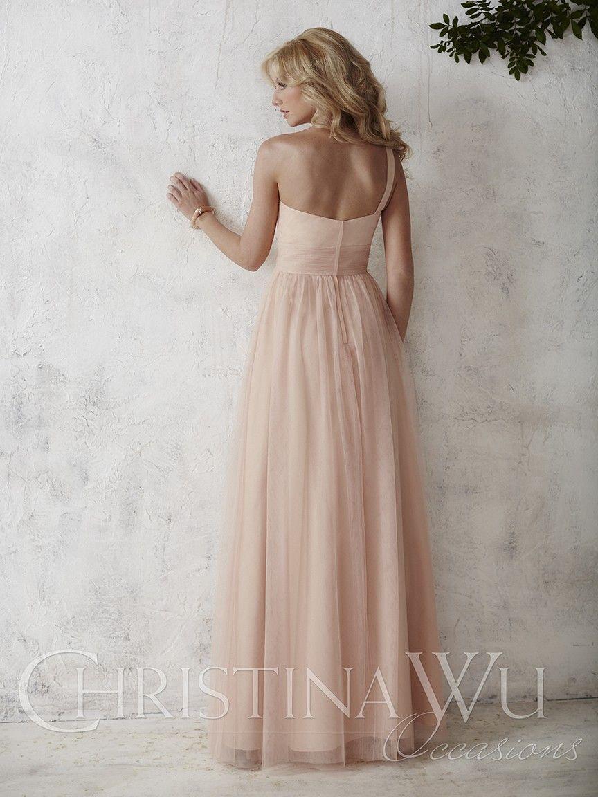 The christina wu occasions bridesmaid dress has an empire