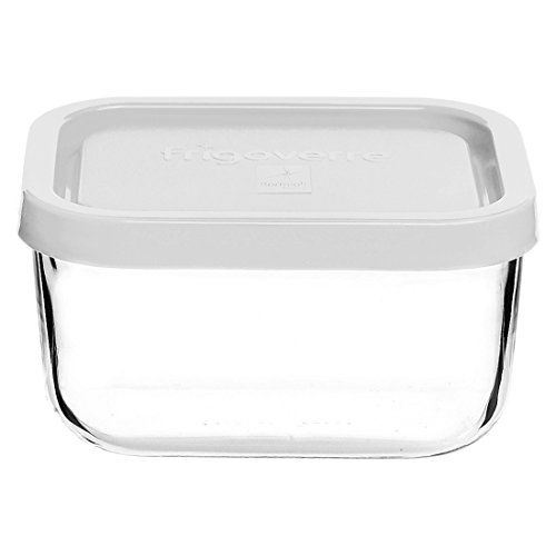 Bormioli Rocco Frigoverre Rectangular Food Container with Frosted