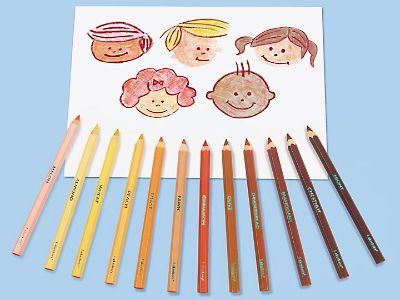 People Colors® Jumbo Pencils at Lakeshore Learning