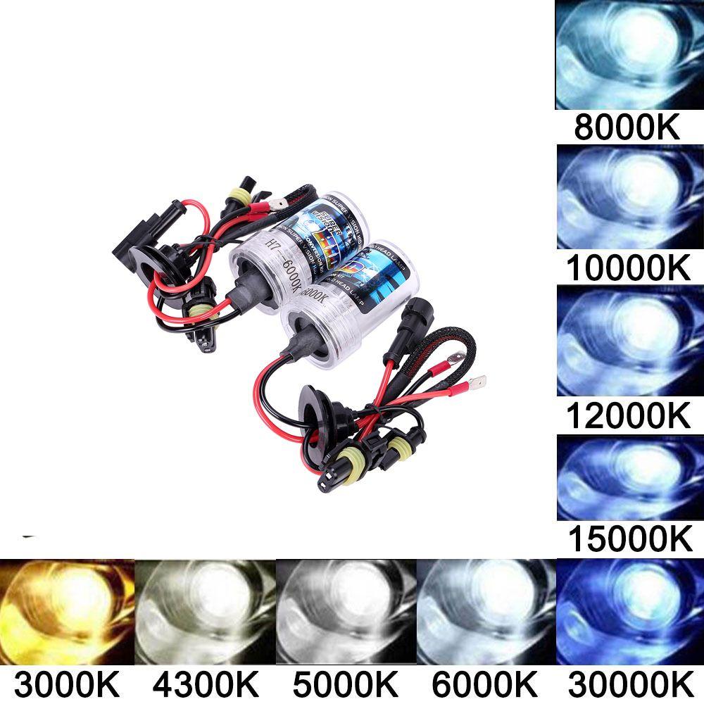 Xenon HID  Hi//Lo Set of 9005 Headlight White 6000K 100W HB3 Halogen Light Bulbs