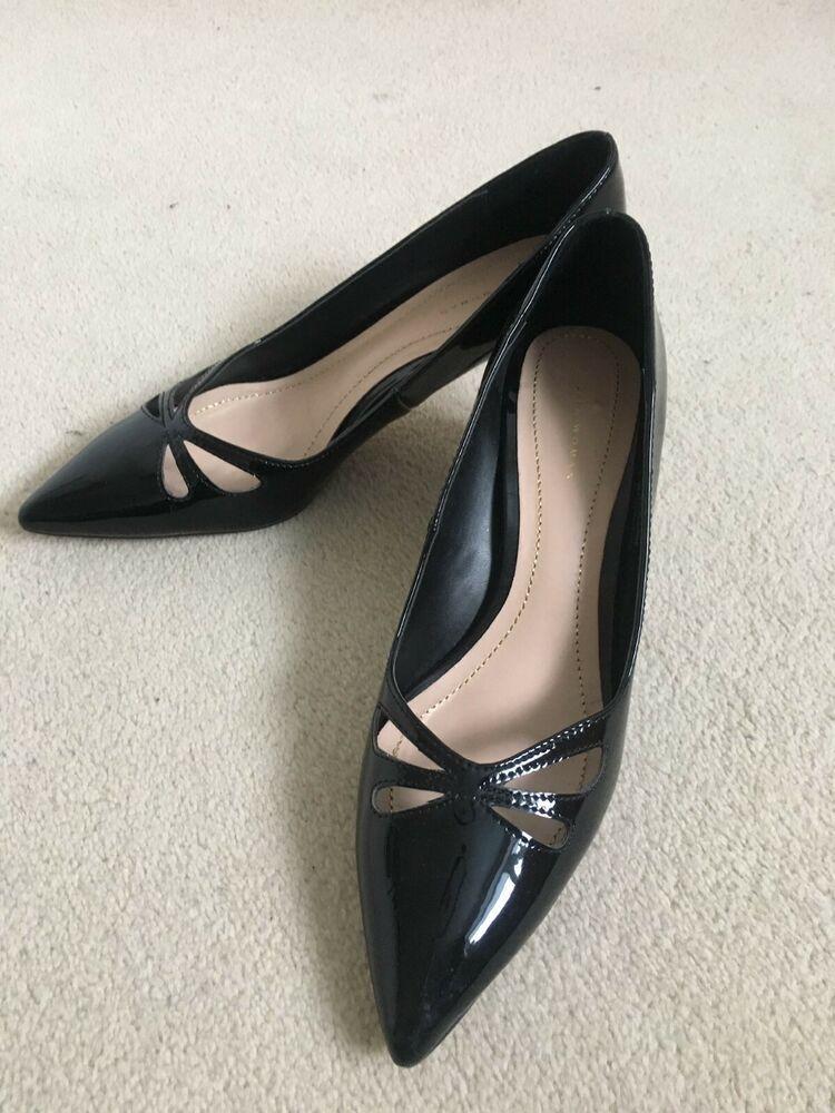 Beautiful Black Kitten Heels Zara Shoes Size 5 Kitten Heels From Ebay Uk Kittenheels Heels 3 00 0 Bids End Black Kitten Heels Heels Spring Shoe Trend