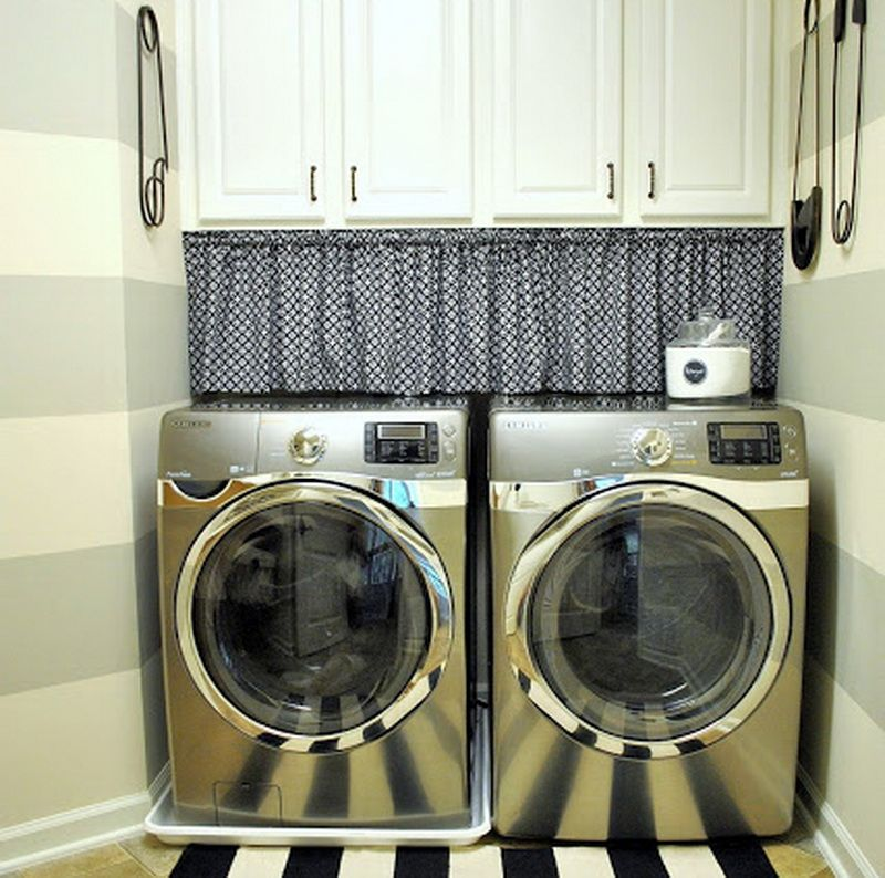 Laundry Room Curtains For Windows