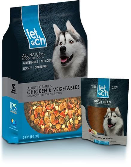 Fetch For Dry Food And Treats Packaging Design Pet Food Packaging Food Animals Olive Oil Packaging