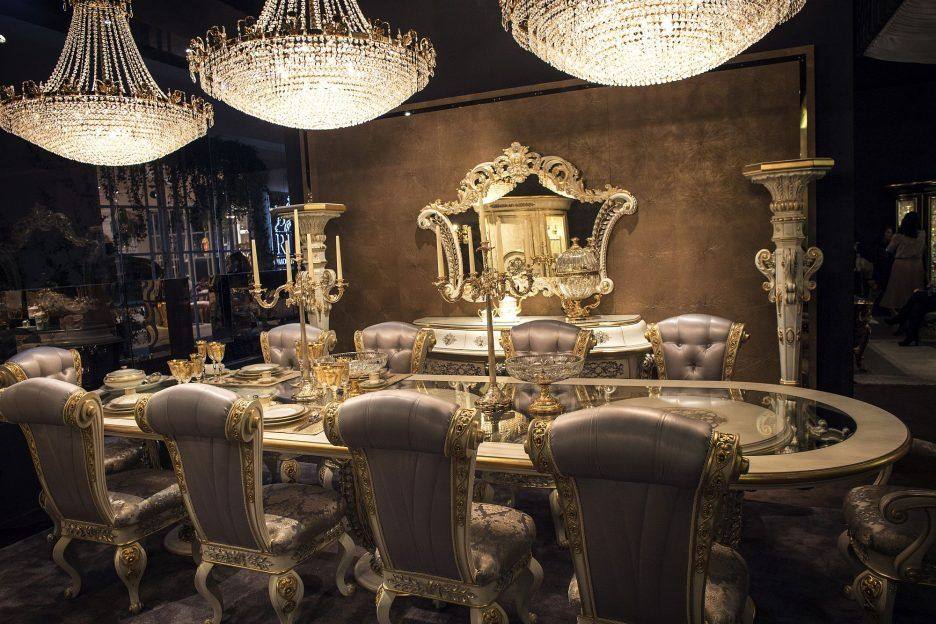 Dining Room Luxury All The Way 15 Wonderful Dining Spaces Suit
