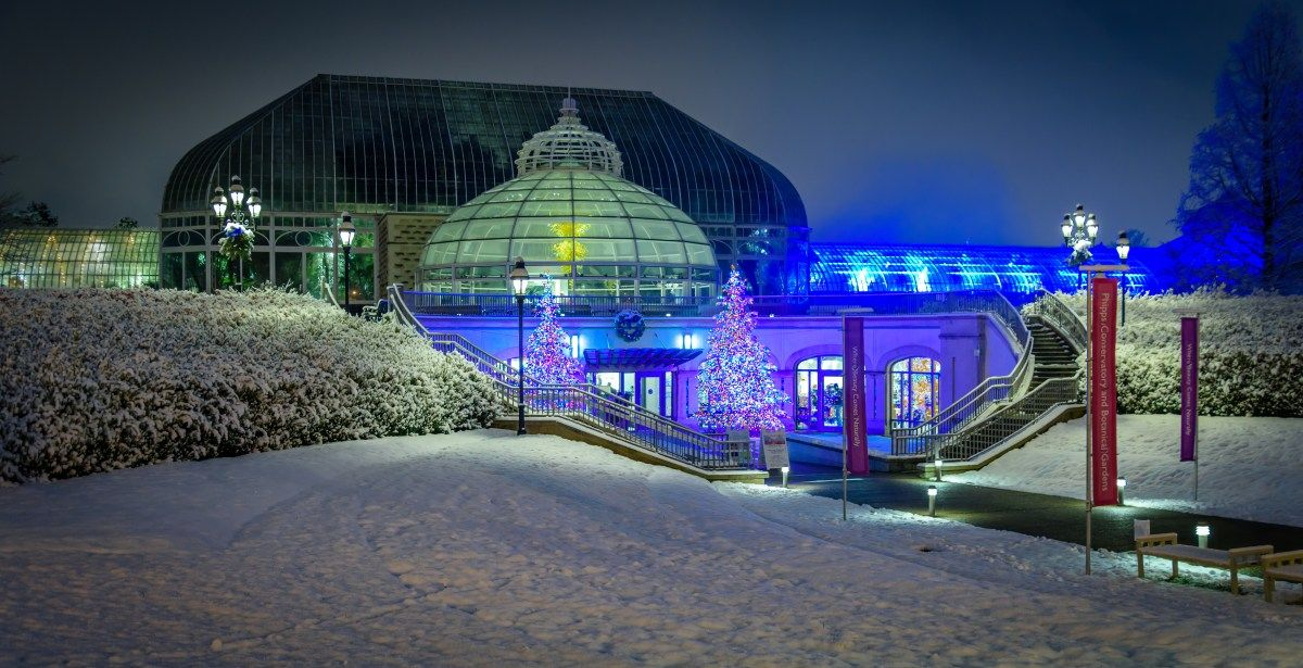 Phipps Holiday Magic Pittsburgh pa, Pittsburgh, House styles