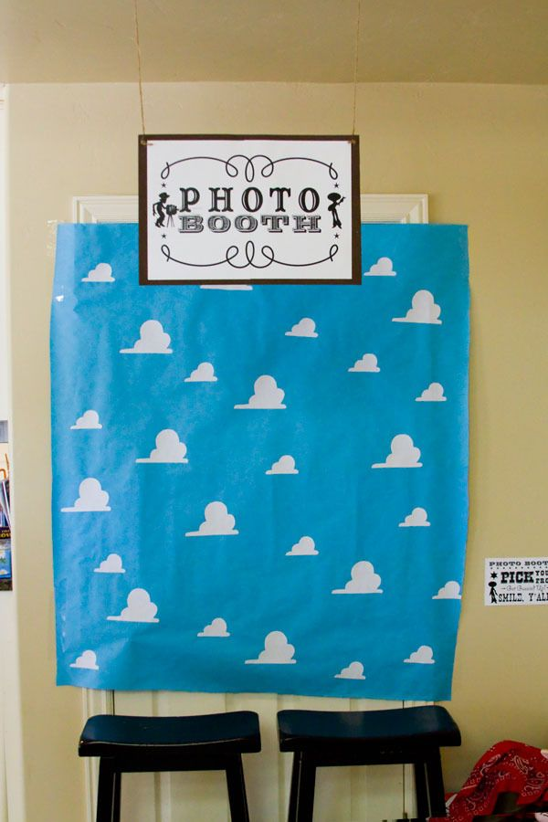 Homemade photobooth.  Love this idea... with a prop table next to it.  Jesse themed party!