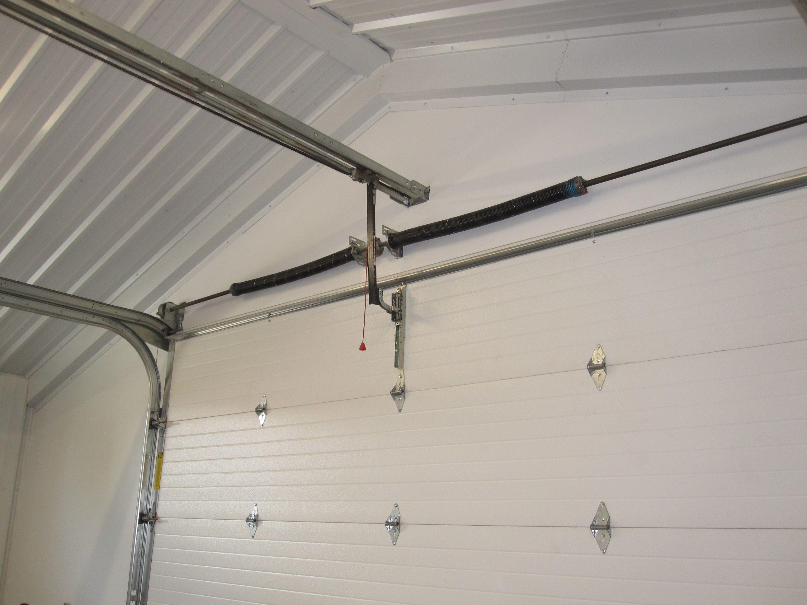 Garage door opener outlet - Low Headroom Garage Doors Metal Building Outlet Offers Top Quality Steel Building Garages And Accessories