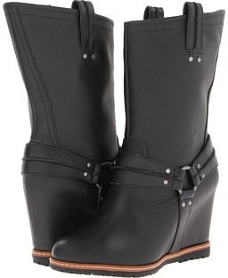 Skechers Women's Cheeky High Rider Boots in Black
