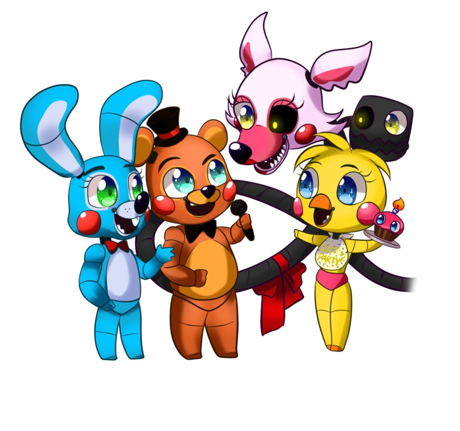 Five Nights At Freddy S 2 Fnaf Dibujos Dibujos De Animatronicos Fnaf