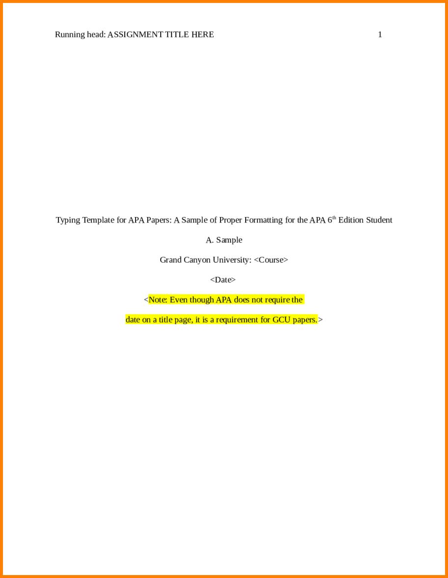 Letter Header Format Alluring Apa Title Page Sample Template  Home Design Idea  Pinterest  Apa .