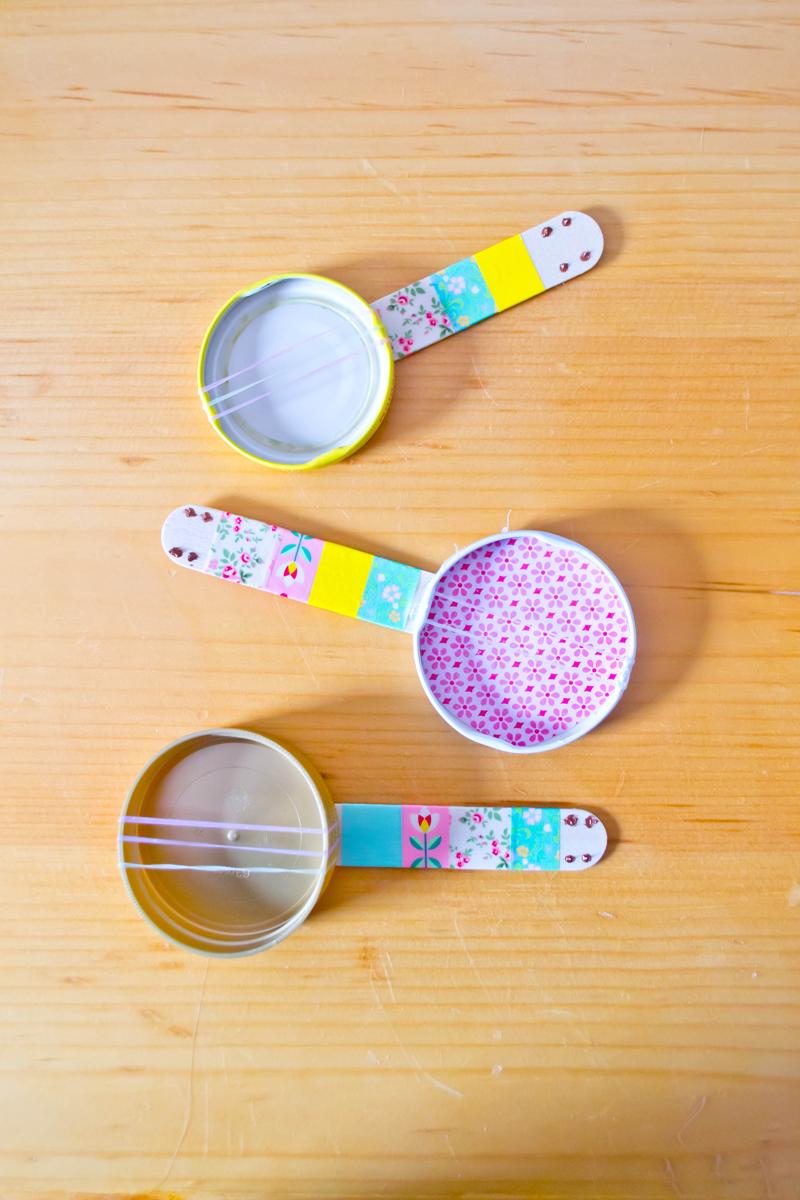 DIY Mini Banjos 15 Best DIY Crafts