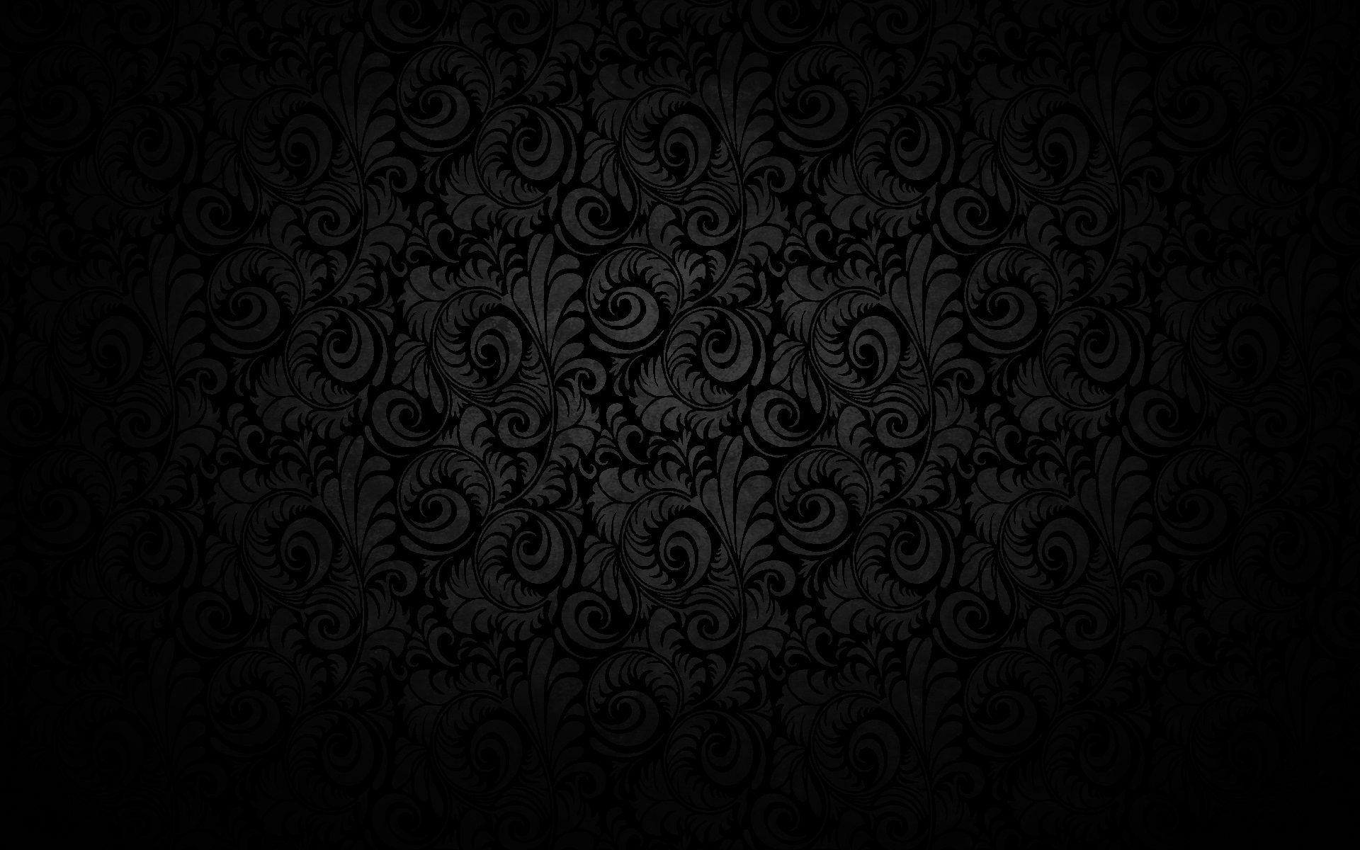 Pin von muse auf wallpapers pinterest for Schwarze mustertapete